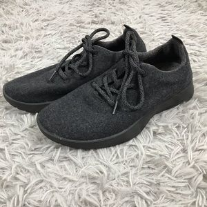 Allbirds Natural Black Gray Wool Runners Shoes W9